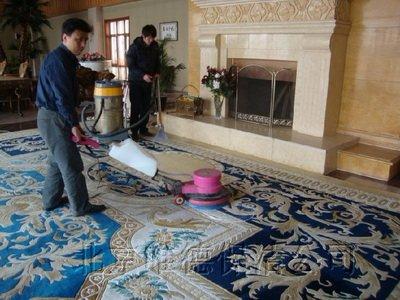 不同污渍的地毯清洗方法